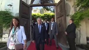 国連事務総長が安倍首相と会談、特別報告者は「国連とは別の個人」