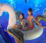 【SNS】夜のプールは泳ぐより…女性に人気、ホテルや遊園地続々オープン