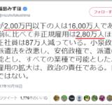 福島みずほのカンマの打ち方に日本中が震撼 常識を疑うような理解不能な表現